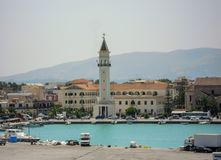 Kościół w Zante kościół na wyspie Zakynthos w Grecja fotografia royalty free