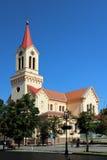 Kościół w Zrenjanin zdjęcia royalty free