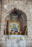 Kościół wejście władyka w Jerozolima obrazy stock