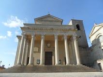 kościół wielki Zdjęcia Royalty Free