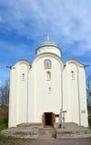 Kościół wniebowzięcie Błogosławiona dziewica przy Świętym Dormition klasztorem Fotografia Stock