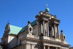 Kościół wniebowzięcie maryja dziewica St Joseph i, Warszawa Obrazy Royalty Free