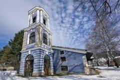 Kościół wniebowzięcie maryja dziewica w dziejowym miasteczku Koprivshtitsa, Sofia region fotografia royalty free
