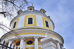Kościół wstąpienie na Gorokhovo polu, uliczny radio, 2 moscow Obrazy Stock