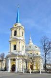 Kościół wstąpienie na Gorokhovo polu, uliczny radio, 2 moscow Obraz Royalty Free