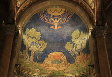 Kościół Wszystkie narody (bazylika agonia) fotografia royalty free