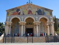 Kościół Wszystkie narody, bazylika agonia Fotografia Stock