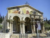 Kościół Wszystkie narody lub bazylika agonia, jesteśmy rzymianinem C Zdjęcie Royalty Free