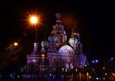 Kościół wybawiciel na krwi, święty Petersburg Zdjęcie Stock