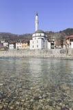 Kościół wzdłuż Neretva rzeki Obrazy Royalty Free