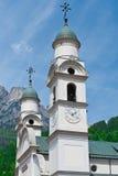 Kościół z dzwonnicą Obraz Stock