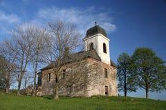 kościół zdruzgotana obraz royalty free