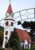 Kościół zegar zdjęcia royalty free