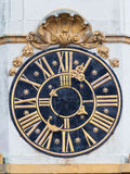 Kościół zegar Obraz Stock