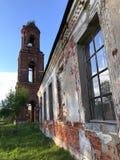 kościół zrujnowany Zdjęcia Stock