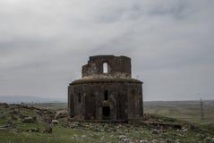 Kościelna świętego Zoravar budowa Mamikonyan Zdjęcia Stock