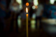 Kościelna świeczka Zdjęcie Stock
