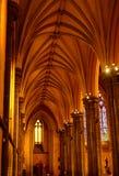 Kościelna aleja zdjęcie stock