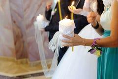 Kościelna ceremonia obraz royalty free