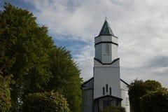 Kościelna iglica, Sneem, Irlandia obrazy royalty free