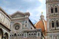 Kościelna kopuła Florencja Włochy Obrazy Royalty Free