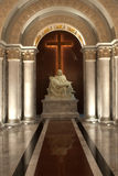 kościelna krucyfiksu bóg matka Zdjęcie Royalty Free
