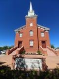 Kościelna perspektywa fotografia stock