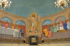 kościelna wewnętrzna dama stary s Fotografia Royalty Free
