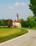 kościelna wieś Obrazy Stock