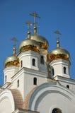 kościelne kopuły Fotografia Stock