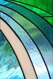 kościelnego szkła pobrudzony okno Fotografia Royalty Free