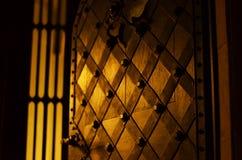 Kościelni drzwi Zdjęcia Royalty Free