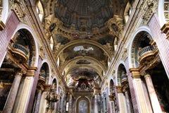 kościelni jesuits Vienna obraz stock