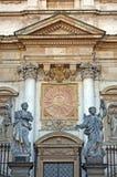 kościelni szczegółu Krakow Paul Peter święty zdjęcie stock
