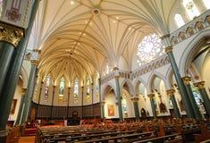 kościelni wnętrza fotografia royalty free