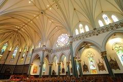 kościelni wnętrza zdjęcia stock