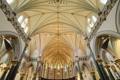 kościelni wnętrza obrazy royalty free