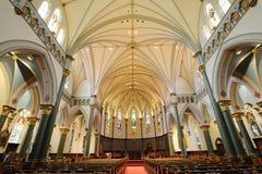 kościelni wnętrza obraz stock