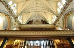 kościelni wnętrza obraz royalty free