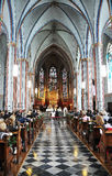 kościelny ślub Obrazy Royalty Free