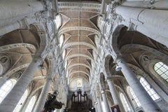 Kościelny święty John baptysta przy Beguinage, Bruksela, Belgia Zdjęcie Stock