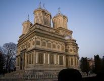kościelny arges curtea de zdjęcie royalty free