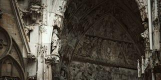 Kościelny arhitecture zakończenie up obrazy stock