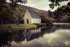 kościelny barra gougane Ireland mały jeden fotografia royalty free