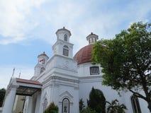 Kościelny Blenduk w Semarang obraz stock