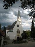 Kościelny blisko krwawiący obrazy stock