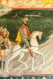 Kościelny Brancoveanu szczegół obraz royalty free