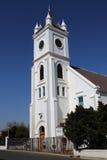 Kościelny budynek w małym uprawia ziemię miasteczku Obrazy Stock
