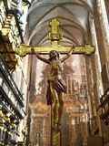 kościelny christi korpus językowy Krakow Poland Zdjęcie Royalty Free