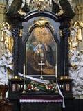 kościelny christi korpus językowy Krakow Poland Zdjęcie Stock